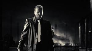 بروس ویلیس در نمایی از سین سیتی