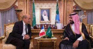 امضای ۱۰ توافقنامه همکاری میان عربستان و فرانسه