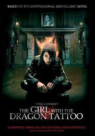 پوستر دختری با خالکوبی اژدها