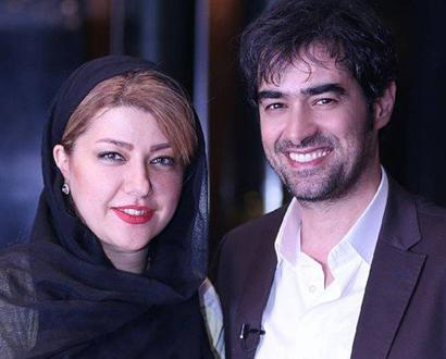 Image result for شهاب حسینی و همسرش