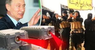سلاح وحشتناک روسیه برای نابینا کردن عناصر داعش+عکس